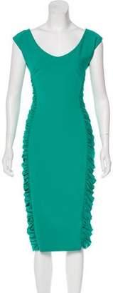 Chiara Boni Sleeveless Midi Dress
