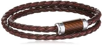 Tateossian Montecarlo Silver Medium Double Wrap Bracelet