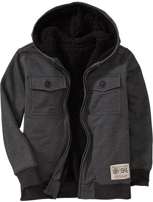 Old Navy Boys Fleece Utility Jackets