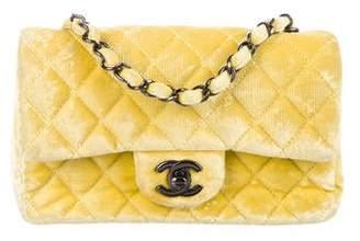 Chanel Velvet Classic New Mini Flap Bag