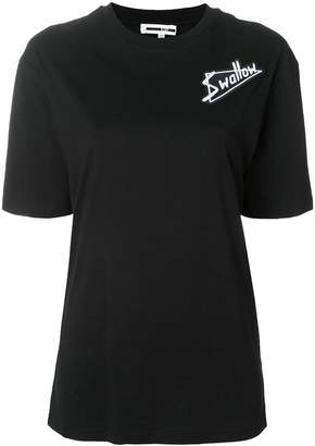 McQ embroidered patch T-shirt