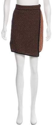 Rag & Bone Metallic Mini Skirt