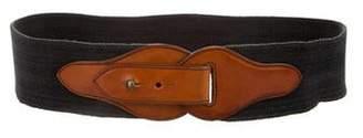 Jean Paul Gaultier Leather Waist Belt