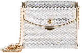 Judith Leiber Crystal Embellished Evening Bag $425 thestylecure.com