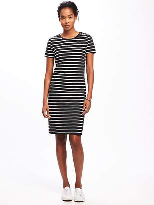 Crew-Neck Tee Dress for Women $26.94 thestylecure.com