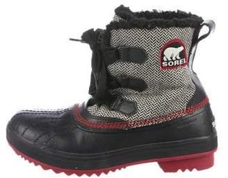 Sorel Shearling Snow Boots