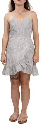 LIRA Raffle Time-Wrap Minidress