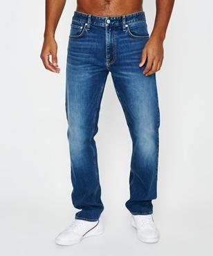 Calvin Klein Ckj 035: Straight (West Cut) Houston Mid Blue