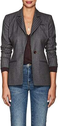 Altuzarra Women's Acacia Pinstriped Wool-Blend One-Button Blazer