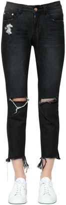 SteveJ & YoniP Steve J & Yoni P Destroyed Cotton Denim Jeans