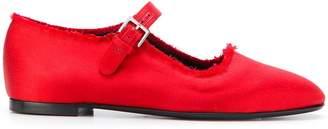 The Row Ava ballerina shoes