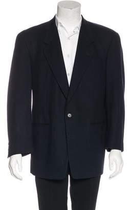 Karl Lagerfeld Wool and Cashmere Blend Blazer