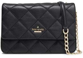Kate Spade Chain-trimmed Quilted Leather Shoulder Bag