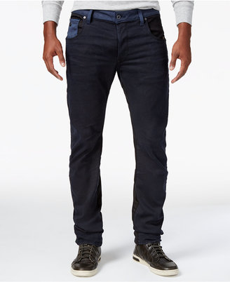 G-Star RAW Men's Arc 3D Slim-Fit Colorblocked Stretch Jeans $180 thestylecure.com
