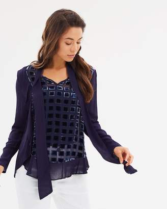 Imperial Ruffle Blouse