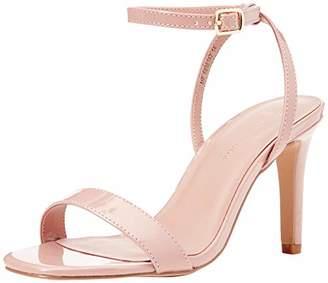 New Look Women's Wide Foot Sensie Open Toe Heels,(39 EU)