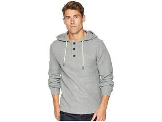 UNIONBAY Suncadia Henley Sweater Hoodie Men's Sweatshirt