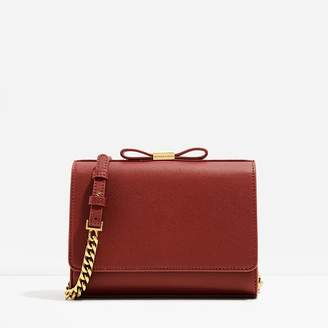 Charles & Keith Bow Detail Clutch