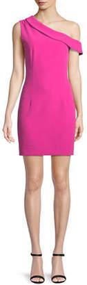Milly Cressida One-Shoulder Sheath Dress