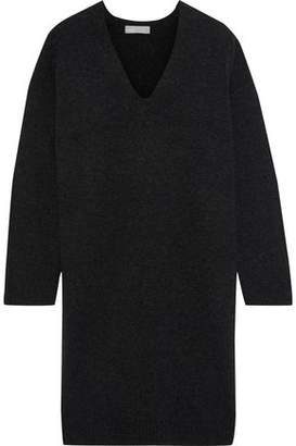 Vince Wool And Cashmere-blend Mini Dress