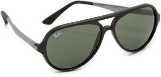 Ray-Ban Pilot Aviator Sunglasses $150 thestylecure.com