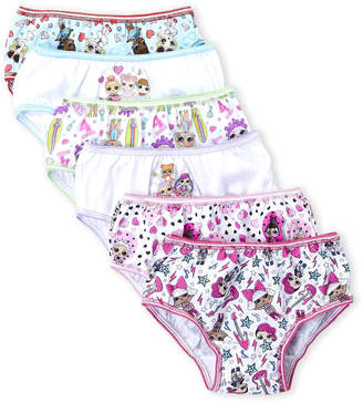 L.O.L. Surprise (Girls 4-6x) 7-Pack Character Panties