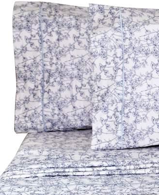Melange Home Cherry Blossom 400-Thread Count Cotton 4-Piece Bedding Set