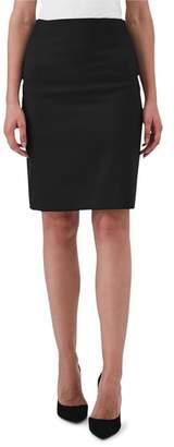 Reiss Harper Stretch Wool Blend Pencil Skirt