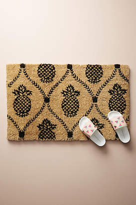 Anthropologie Pineapple Doormat