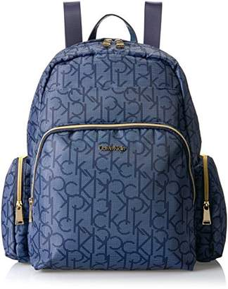 Calvin Klein Nylon Multi Pocket Backpack
