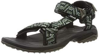 Teva Men's Terra Fi Lite M's Ankle Strap Sandals, (Nikos Black/Green 433)