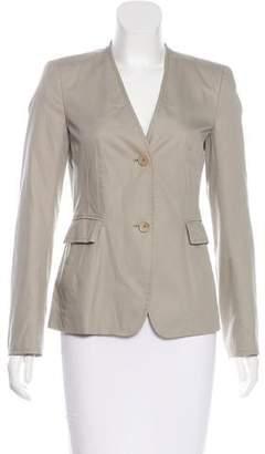 Akris Punto Woven Button-Up Jacket