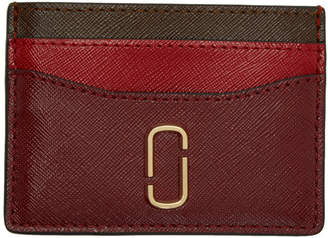 Marc Jacobs Red Snapshot Card Holder