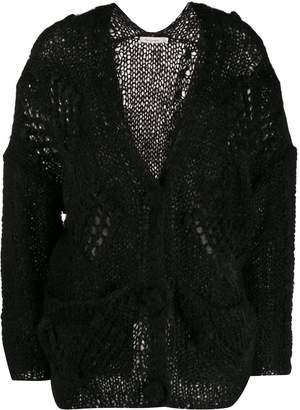 Mes Demoiselles chunky knit cardigan