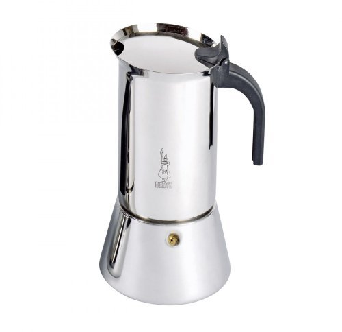 Bialetti 10 Cup Venus Stainless Steel Stovetop Espresso Coffee Maker, Induction