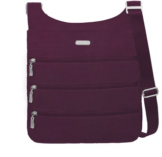 Baggallini Big Zipper Crossbody Bagg with RFID