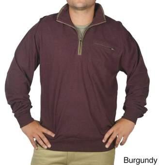 Stanley Men's long sleeve quarter zip jersey pullover