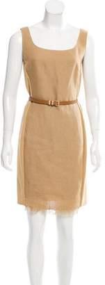 Max Mara Woven Mini Dress