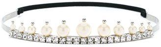 crystal and pearl tiara