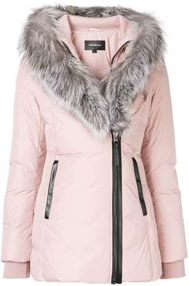 Mackage fur trimmed jacket