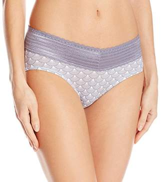 Warner's Women's No Pinching. No Problems. Cotton with Lace Hipster $11.50 thestylecure.com