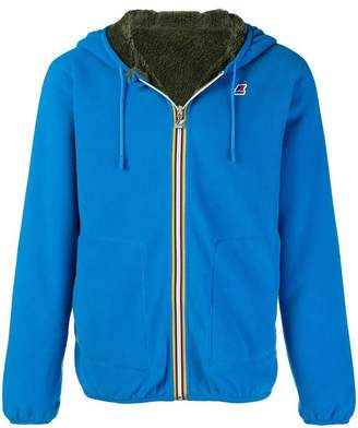 K-Way reversible hooded jacket
