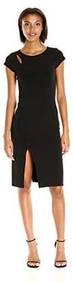 Velvet by Graham & Spencer Women's Stretch Jersey Capsleeve Dress