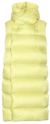 Rick Owens Funnel-neck puffer vest