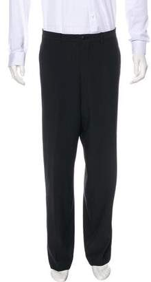 Giorgio Armani Pinstripe Dress Pants
