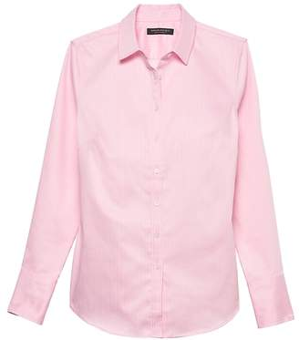 Banana Republic Riley Tailored-Fit Super-Stretch Shirt