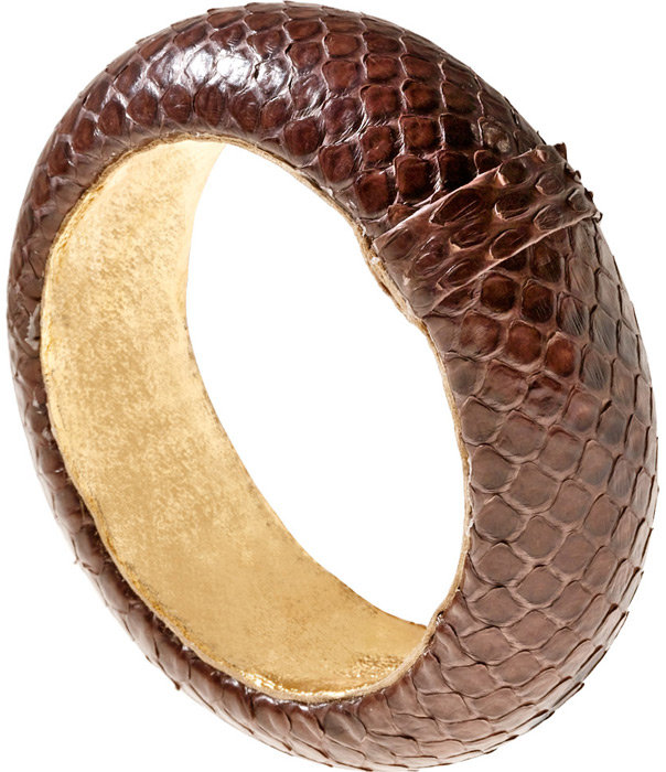 Medium Python Bangle by Ted Rossi