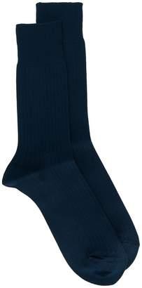 Comme des Garcons ribbed knit socks