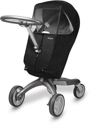 Stokke [Manito Xplory Melange Cover / Cover for only Xplory Stroller and Pushchair, Rain Cover, Wind Weather Shield for outdoor strolling, Eye Protective Wide Windows