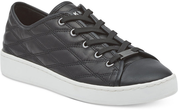 Dkny Brayden Lace-Up Sneakers, Created For Macy's